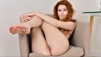 Heidi Romanova in 'Natural Redhead'